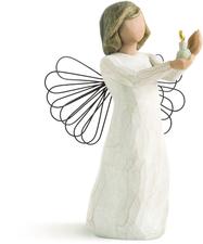 Willow Tree Engel der Hoffnung mit Kerzenschein