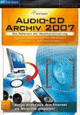 Astragon Audio-CD Archiv 2007 (Win) (DE)