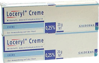 Galderma Loceryl Creme (2 x 20 g)