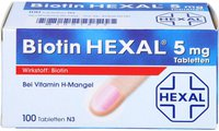 Hexal Biotin 5 mg Tabletten (100 Stk.)
