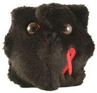 Riesen Mikroben HIV
