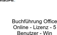 Haufe Verlag Buchführung Office (5 User) (DE)