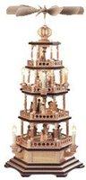 Müller Kleinkunst 4-stöckige Pyramide Heilige Geschichte (72 cm)