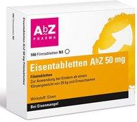 AbZ Eisentabletten 50mg Filmtabletten (100 Stk.)
