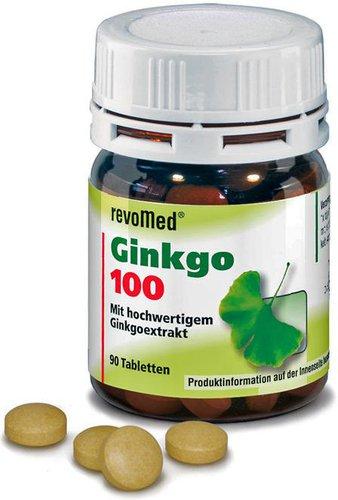 Ascopharm Sovita Ginkgo 100 Tabletten (90 Stk.)