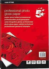 5-Star Premier Fotopapier, A4, 260g/qm, hochglanz (917480)