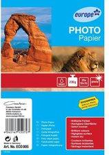 europe 100 Photo Papier 10x15, 230g/qm, 25 Blatt (ECO005)