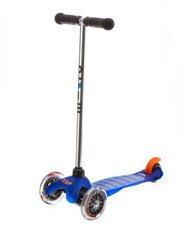Micro Mobility Scooter Mini Micro blau