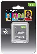 Integral Compact Flash Card i-Pro 8 GB 40x