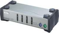 Aten Master View KVM Switch PS/2, 4-fach (CS-84)