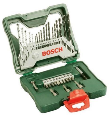 bosch x line classic bohrer und schrauber set 34 tlg 2607010608 preisvergleich ab 7 99. Black Bedroom Furniture Sets. Home Design Ideas