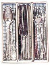 Schopper Besteck für 4 Personen Metall 18 Teile