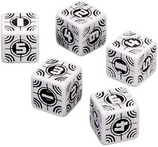 Q-Workshop Axis und Allis - Sniper Dice: White/Black (WSN02)