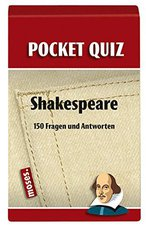 Moses Pocket Quiz - Shakespeare