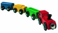 Micki Zug-Set Rote Lokomotive