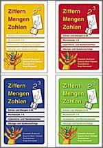 Schubi Verlag Kombipaket Ziffern-Mengen-Zahlen - 4 Quartette