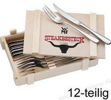 WMF Steakbesteck 12 tlg. in Holzkiste