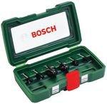 Bosch HM-Fräserset 6mm Schaft 6-tlg