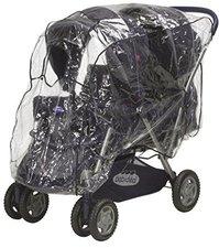 Playshoes Regenverdeck für Geschwisterkinderwagen