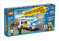 LEGO City Superpack Polizei 4 in 1 66375