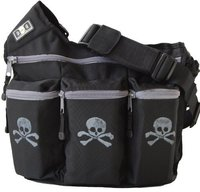 Diaper Dude Diaper Bag Skull and Cross Bones Bag