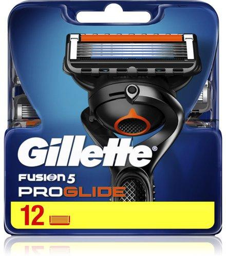 Gillette Fusion Proglide Systemklingen (12 er)