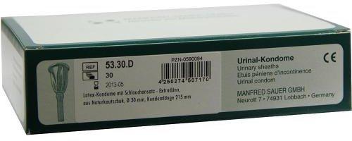 Manfred Sauer Kondome m. Schlauch 5330d (PZN 0590094)