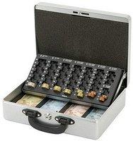 MAUL 371 Geldkassette mit Zähleinsatz, silber (5621495)