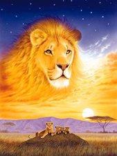 Ravensburger König der Tiere (500 Teile)