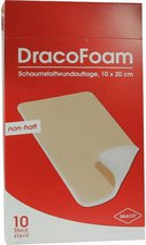 Draco Dracofoam Schaumstoffwundauflage 10 x 20 cm (10 Stk.)