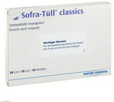 Sanofi-aventis Sofra Tuell Classics 10 x 30 cm Streifen (10 Stk.)