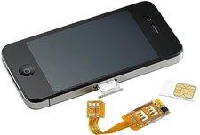 Callstel Dual Sim Adapter (iPhone 4)