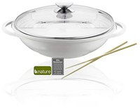Berndes Vario Click Induction Wok mit Glasdeckel 32cm