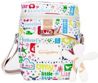 Little Company Wickeltasche Cartoon Shoulder Bag