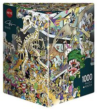 Heye Dreieckspuzzles - Giuseppe Calligaro: Dinos (1.000 Teile)