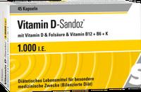 Sandoz Vitamin D 1000 I.E. Osteo Complex Hartkapseln (45 Stk.)