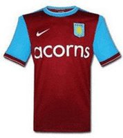 Nike 09-11 Aston Villa Home Trikot