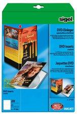 sigel IP686 DVD-Einleger, hochweiß