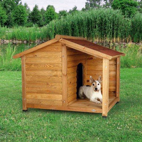 Hundehütte mit Terrasse
