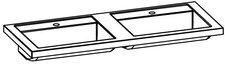 Artiqua  Evolution 212 Doppel-Waschtisch 120 x 48,5 cm (212.0-MMDWT01-1200)