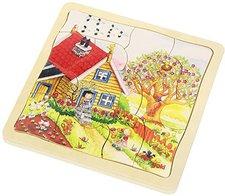 goki Schichtenpuzzle Jahreszeiten