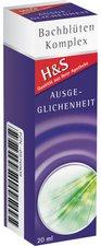 H&S Ausgeglichenheit Bachblüten Komplex Tropfen (20 ml)