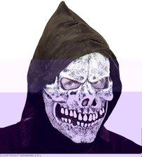 Widmann Totenkopfmaske mit Kapuze