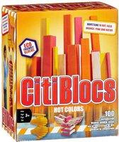 Brainstorm Ltd Citiblocs - Hot Colors 100er Set