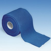 Megro Fixierbinde Ratiomed kohaes.glatt 20 m x 8 cm blau