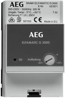 AEG Electrolux ELFAMATIC G 3000