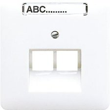 Jung Abdeckung für IAE/UAE-Anschlussdose (CD 569-2 NAUA WW)
