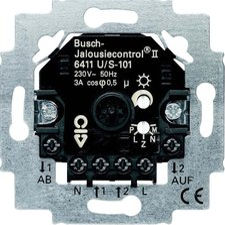 Busch-Jaeger Busch-Jalousiecontrol II Einsatz (6411 U/S-101)