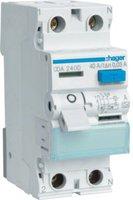 Hager FI-Schutzschalter 2P 40A 30mA (CDA240D)