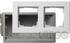 Gira E22 Einbauset für die flache Montageart 2fach (2882201)